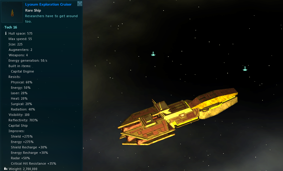 Lyceum Exploration Cruiser