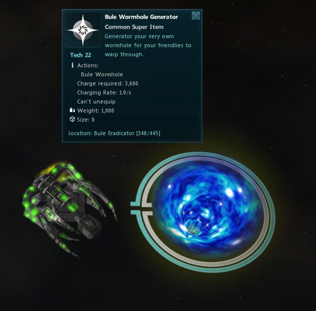 Bule Wormhole Generator