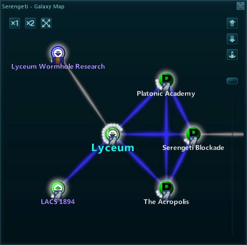 Universe Map Dialogue